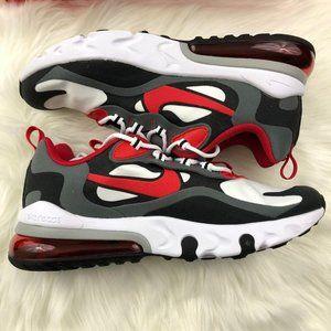 NWT Nike Air Max 270 React Sneakers Red & Black